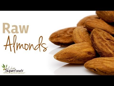 All About Organic Raw Almonds - LiveSuperFoods.com