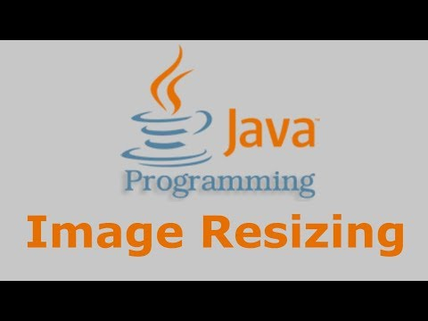 Java Tutorial - Image resizing