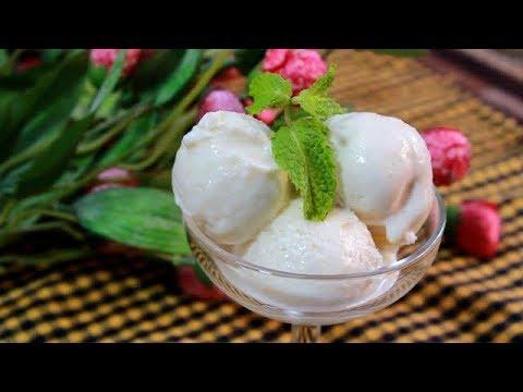 ডাবের শাঁস দিয়ে বানিয়ে ফেলুন এই মজাদার রেসিপি||Coconut Ice Cream Recipe||Bengali Narkeler Ice Cream