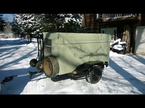 $80 Enclosed Trailer - Backyard Mechanic DIY