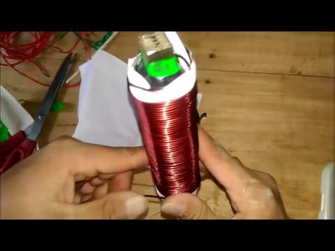 Homemade inverter 12v to 220v Part 1
