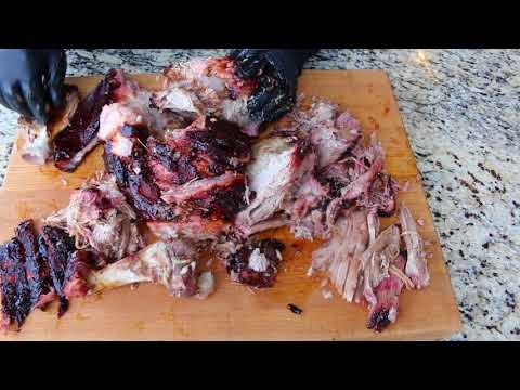 Whole Shoulder - Breaking Down a Whole Pork Shoulder into Pulled Pork