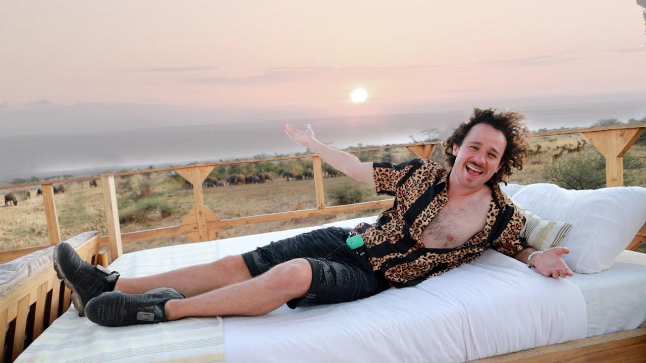 Dormí en el famoso hotel-mirador de África! | ¿Vale la pena? 😱🦒