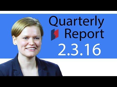 Unemployment Insurance Quarterly Report