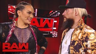 Nia Jax has a surprising encounter with Enzo Amore: Raw, Dec. 4, 2017