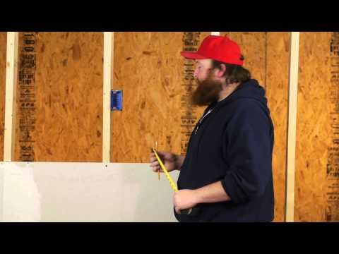 How to Install Sheetrock Around Electrical Boxes : Drywall Help