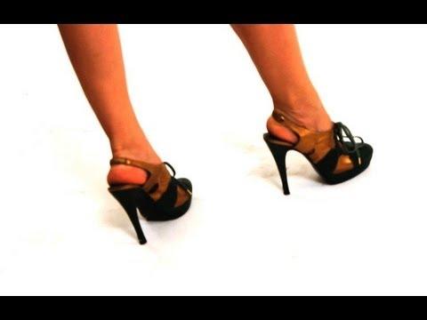 How to Maintain Proper Posture in Heels | High Heel Walking