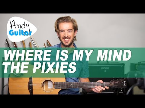 Alto sax where is my mind? The pixies sheet music, chords.