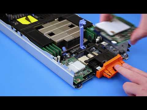 Dell EMC PowerEdge M640: Remove/Install Mezz Card