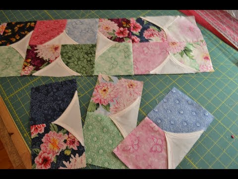EPISODE 55 - Awesome ONE Seam 5 minute quilt block explained/measurements included