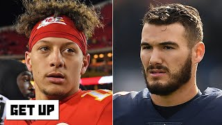 Revisiting the 2017 NFL Draft: Mitchell Trubisky, Patrick Mahomes & Deshaun Watson | Get Up