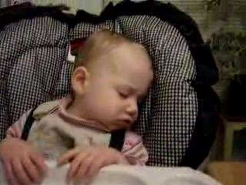 Annabelle sleeping