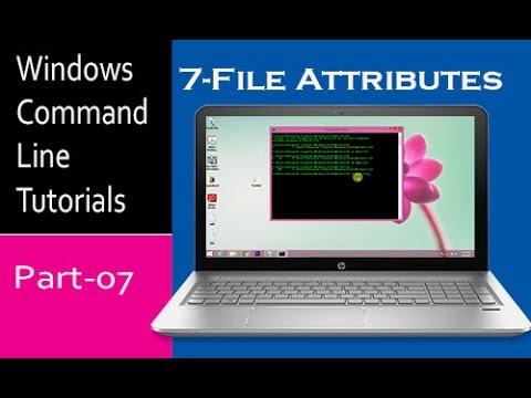 Windows Command Line Tutorials- File Attributes | Part-7