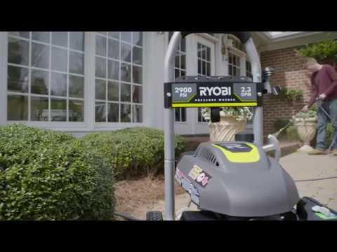 RYOBI 2900 PSI Pressure Washer