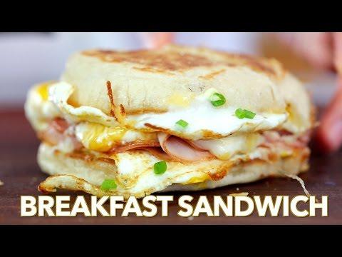 Breakfast: Breakfast Sandwich - One Pan Breakfast - Natasha's Kitchen