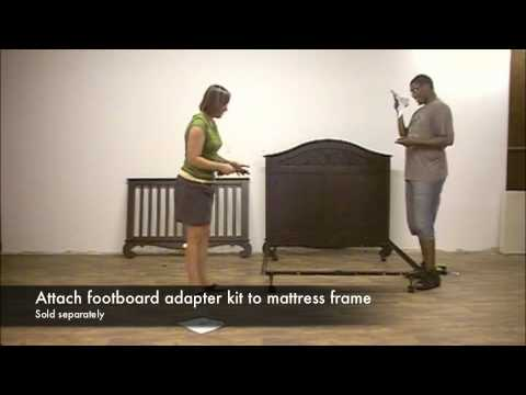 Bratt Decor Chelsea Lifetime Crib to Full Bed Conversion