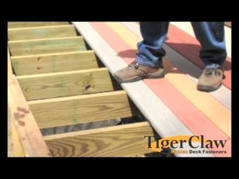 Installation instructions for Weatherbest decking