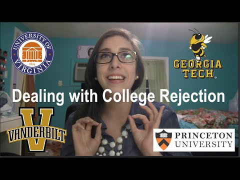 Dealing with College Rejection and My Experience