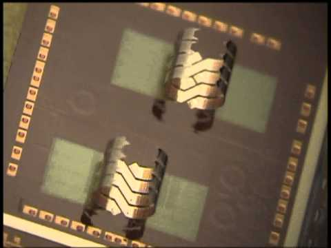 Out of plane inductor coil self assembly