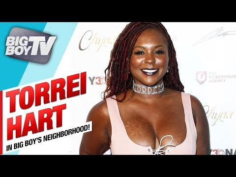Torrei Hart on New Comedy Tour, Coparenting w/ Kevin Hart & Her Hair Care Line