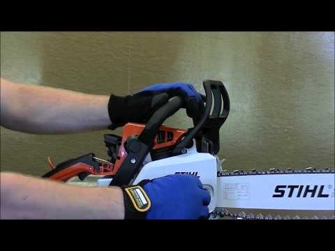 How To Change A Chainsaw Chain | Stihl Chainsaw