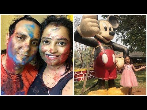HOLI VLOG 2018   INDIAN MOM ENJOYING VACATION IN RESORT