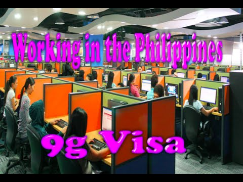 Foreigner working in the Philippines, 9g visa or the pre-arranged employment visa