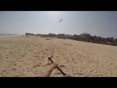 Kiteboarding lessons - Trainer flying