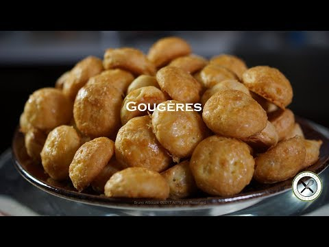 Gougères / Cheese Puffs – Bruno Albouze – THE REAL DEAL