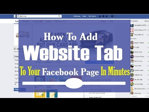 How To Add Website Tab to your Facebook Page in minutes - Step by Step Tutorial