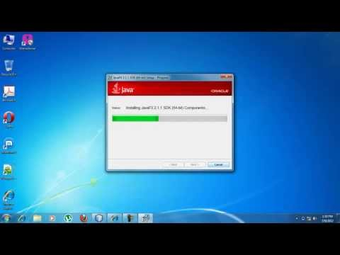 Setup JDK for Windows 7