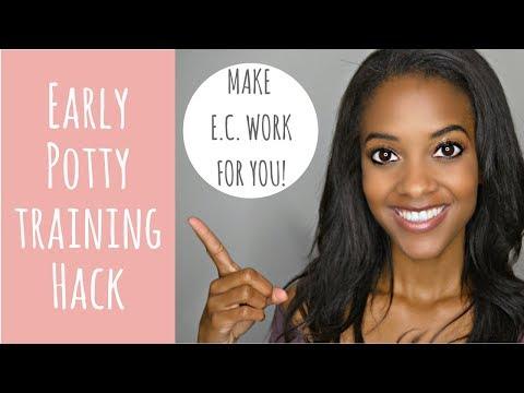 Elimination Communication | Early Potty Training *4 Easy Steps!
