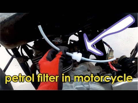 how to install motorcycle fuel filter | bikes carburetor problems solutions | bullet singh boisar