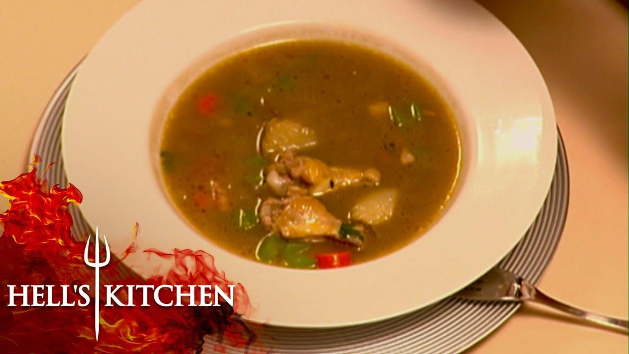 Chicken Soup Impresses Gordon!   Hell's Kitchen