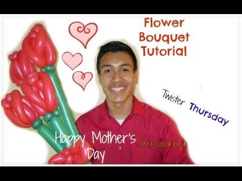 Balloon Flower Bouquet Tutorial