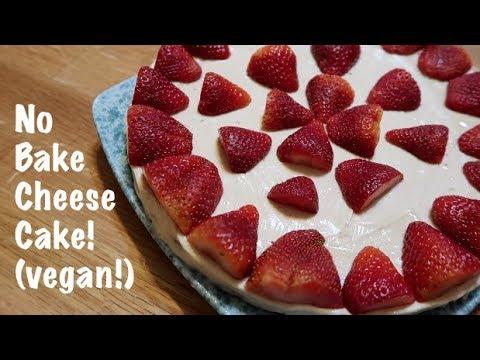 No Bake Cheesecake (vegan!)