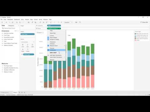 Sort Colours in Stacked Bar Chart (Full worksheet build)