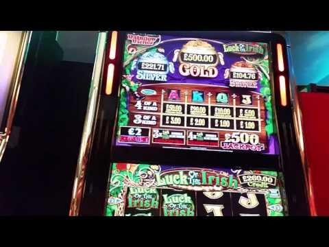 600 vs Luck Of The Irish Arcade 3rd September