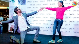 Hrithik Roshan dances with a Mallu Girl in Kochi | Kaabil Kerala Promotion