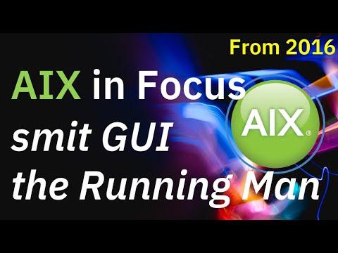 AIX SMIT Running Man