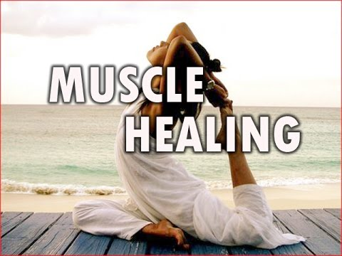 Muscle Healing with Isochronic Pulses and binaural beats music