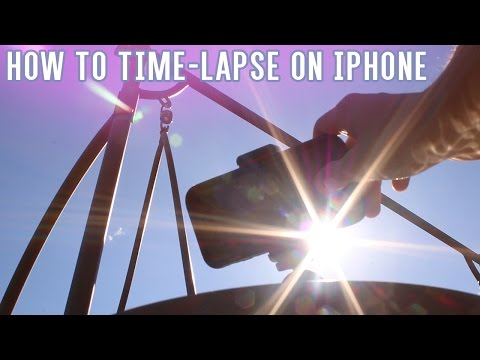 How to Shoot a Time-Lapse Video with the iPhone