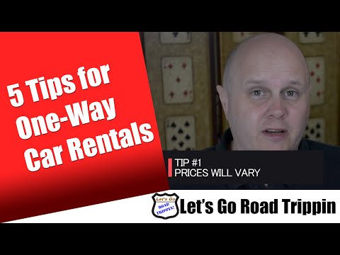 5 Tips for One way Car Rentals