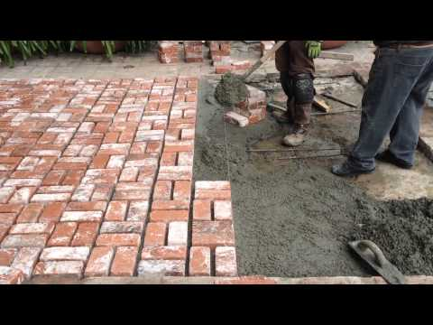 Northridge Brick Floor Patio Remodeling Shafran Construction Call Today 818-735-0509