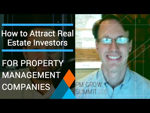 How to Attract Real Estate Investors for Property Management Companies