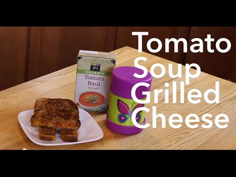 Easy Lunch Idea: Tomato Soup Grilled Cheese | Care.com