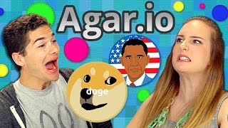 AGAR.IO (Teens React: Gaming)