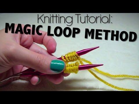 Knitting Tutorial - Magic Loop Method