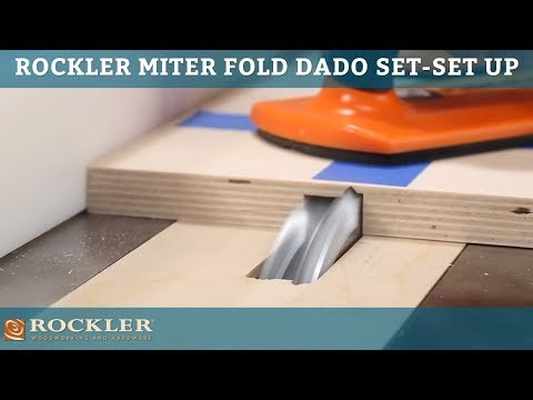 Rockler Miter Fold Dado Set - Set Up Your Saw For Success