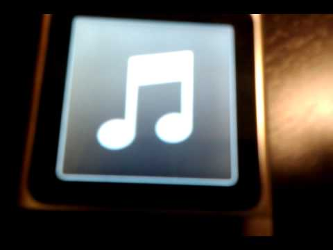 How to turn off voiceover on the ipod nano 6g
